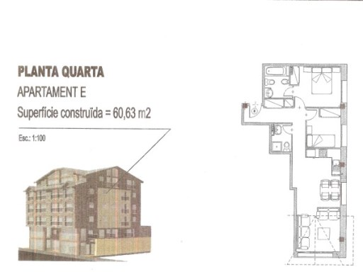 Apartament › Canillo | 2 Habitacions | 2WC