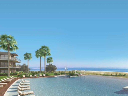 3 pièces avec terrasse privée à Praia do ...