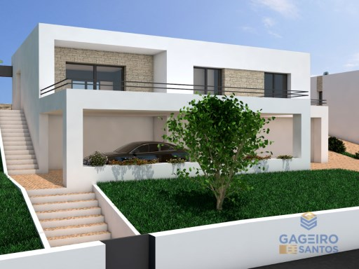 Detached 3 bedroom Villa - under construction at Peso - Santa Catarina -Caldas da Rainha - Silver Coast | 3 Zimmer | 2WC