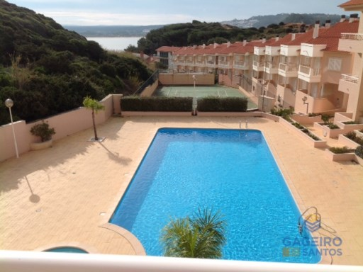 Excellent 1 bedroom apartment with pool in São Martinho do Porto - Silver Coast | 1 Habitación | 1WC