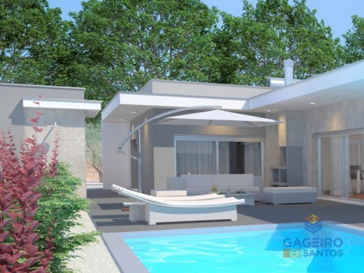 3 bedrooms Villa under construction, with pool and garage in Nadadouro - Caldas da Rainh- Silver Coast | 3 Habitaciones | 2WC