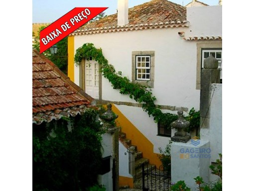Typical townhouse T3 - Óbidos - Silver Coast | 3 Bedrooms | 3WC