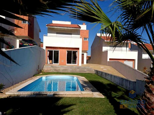 Villa with private garden and pool - central heating and garage - Serra dos Mangues - São Martinho do Porto - Silver Coast | 4 Zimmer | 3WC
