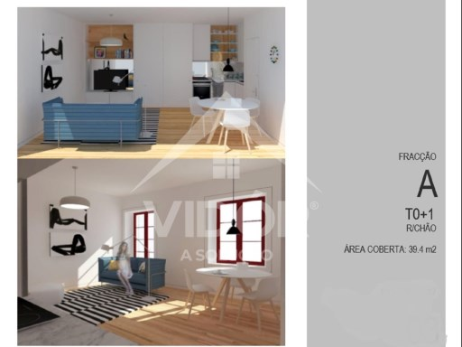Apartment › Porto | 0 Bedrooms + 1 Interior Bedroom | 1WC