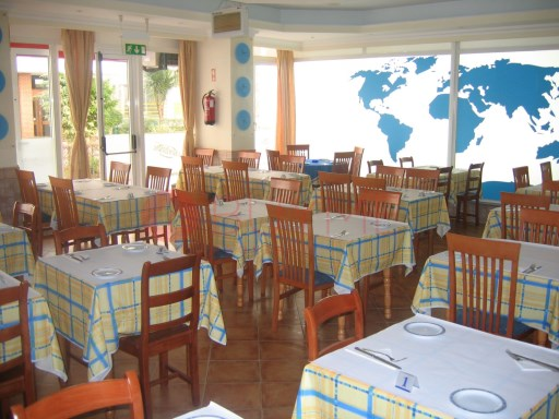 Restaurant in the heart of Vilamoura. |