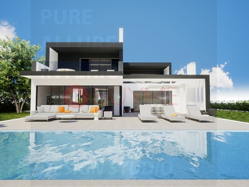 Unique contemporary villa frontline golf in Vila Sol Resort |