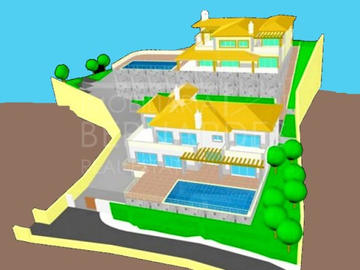 Luxury Villa 6 suites with sea view located in lot with 10000 m | 6 Bedrooms | 7WC
