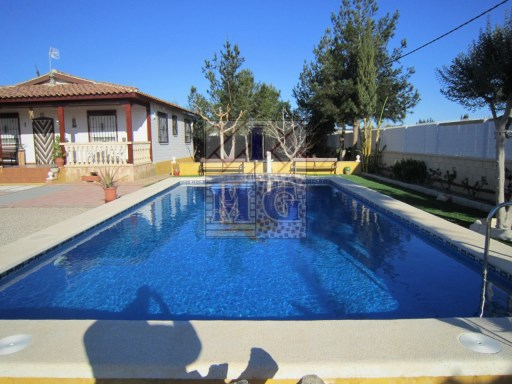 House plot with swimming pool |