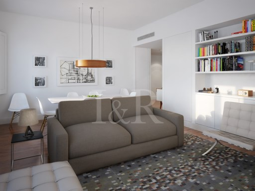 3 BEDROOM APARTMENT IN PRIVATE CONDOMINIUM WITH PARKING IN CHIADO, LISBON | 3 Bedrooms | 2WC