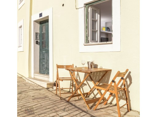 STUDIO NEAR SÃO JORGE CASTLE, LISBON WITH CLEAR VIEW  | 0 Bedrooms | 1WC