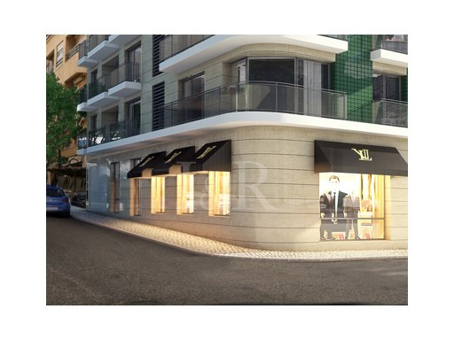 LUXURY STORE IN CAMPO DE OURIQUE, NEAR THE FRENCH SCHOOL, LISBON, FOR SALE |