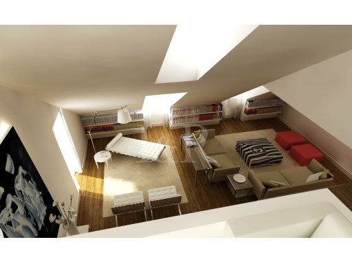 5 BEDROOM DUPLEX APARTMENT, LISBON, CAMPO DE SANTANA, WITH PARKING | 4 Bedrooms + 1 Interior Bedroom | 5WC