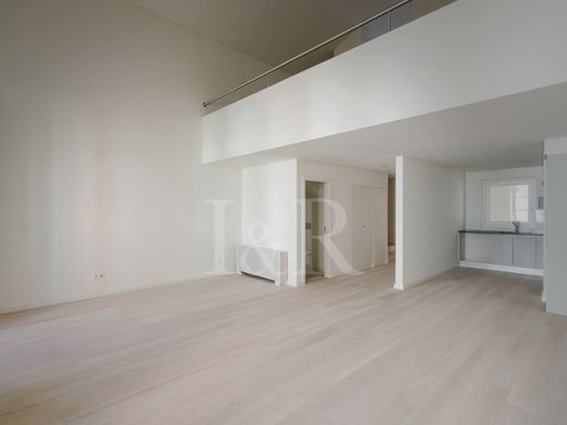 EXCELLENT LOFT IN PRIVATE CONDOMINIUM IN THE HISTORIC CENTER OF LISBON | 1 Bedroom