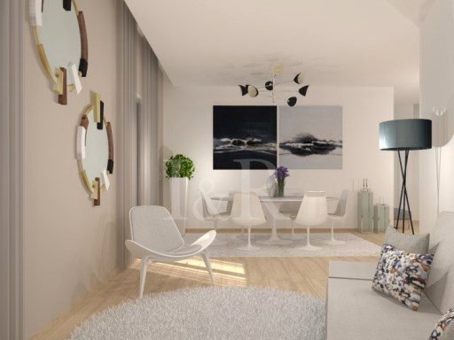 2 BEDROOM APARTMENT WITH PARKING PLACE IN CAMPO DE OURIQUE, LISBON | 2 Bedrooms | 2WC