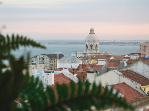 1 BEDROOM APARTMENT WITH RIVER VIEW IN GRAÇA, LISBON | 1 Bedroom | 1WC
