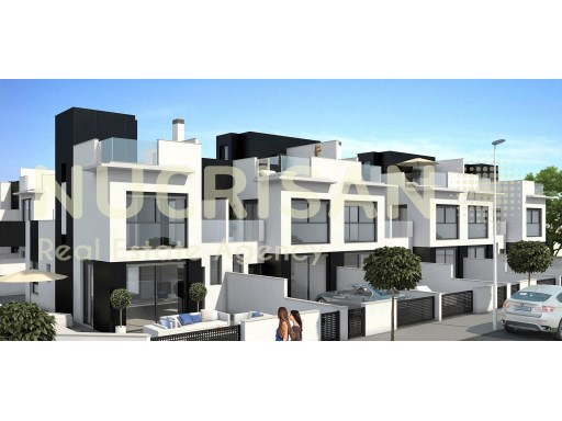 Duplex townhouses in Tower of the Horadada Alicante Costa Blanca | 3 Pièces | 2WC