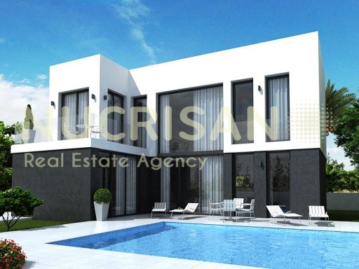 Fabulous modern style villa, located in La Marina Alicante Costa Blanca  | 5 Pièces | 3WC