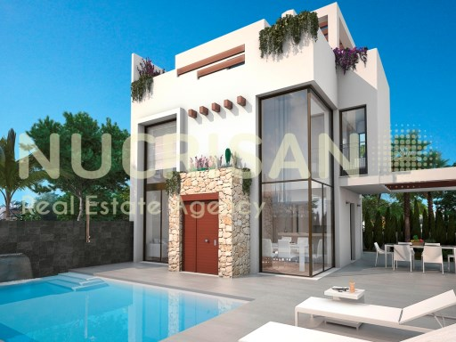 Villas Independientes en Ciudad Quesada Alicante Costa Blanca  | 3 Habitaciones | 3WC