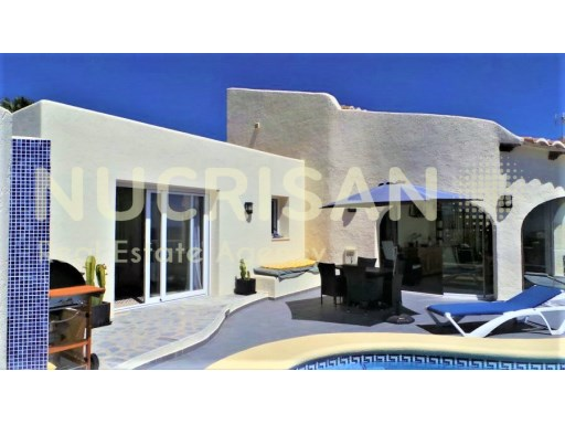 Beautiful Villa with seaview in Benitachell Alicante Costa Blanca | 4 Bedrooms | 3WC