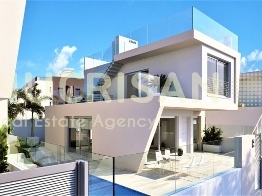 Villas in Mil Palmeras Alicante Costa Blanca  | 3 Bedrooms | 3WC