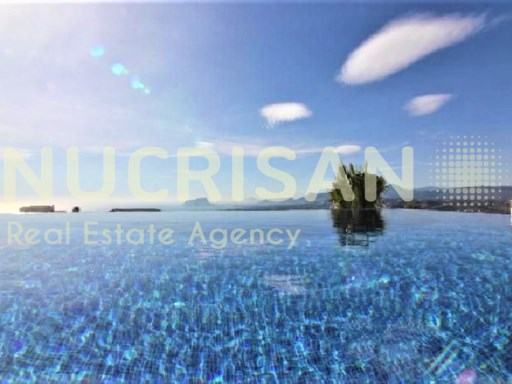 Mediterranean style villa overlooking the sea in Benitachell Alicante Costa Blanca | 3 Bedrooms | 2WC