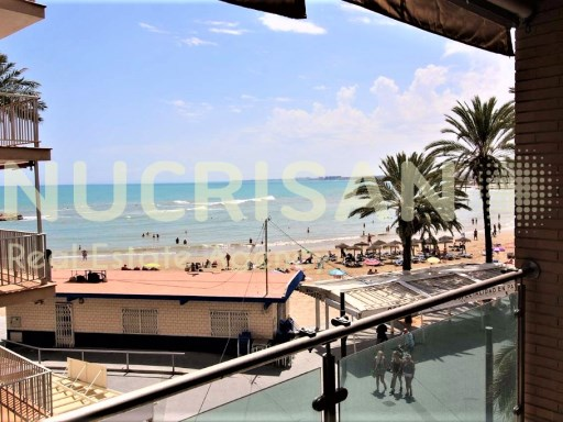 Apartments in 1st line Beach in Torrevieja Alicante Costa Blanca | 2 Bedrooms | 1WC