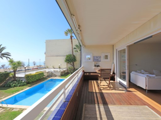 Apartment with sea views in Caldes d'Estrac | 3 Bedrooms | 2WC