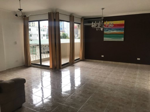 Apartment › Panamá | 2 Bedrooms + 1 Interior Bedroom | 2WC