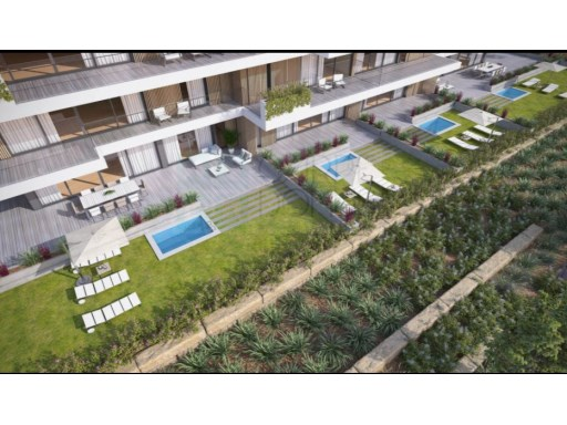 Fantastic and modern apartments T1 to debut, with Terrace and pool, the Belas Clube de Campo | 1 Bedroom | 1WC
