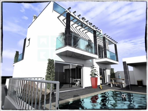 Brand New 3 bedroom villa, w/ lift, garage box, pool w/ BBQ area, roof terrace w/ sea view (Tavira – Algarve) | 3 спальни