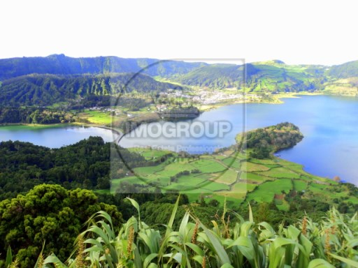 Building land-Azores island of Flores  |