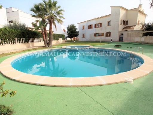 IS VILLA TERRACED HOUSE IN SA TORRE/LLUCMAJOR - MALLORCA REAL ESTATE INVESTMENT FOR SALE | 2 Bedrooms | 3WC