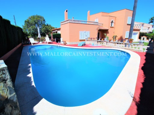 BE DETACHED VILLA FOR SALE IN BAY BLUE/LLUCMAJOR - INMOBILIARIA MALLORCA INVESTMENT | 4 Bedrooms | 2WC