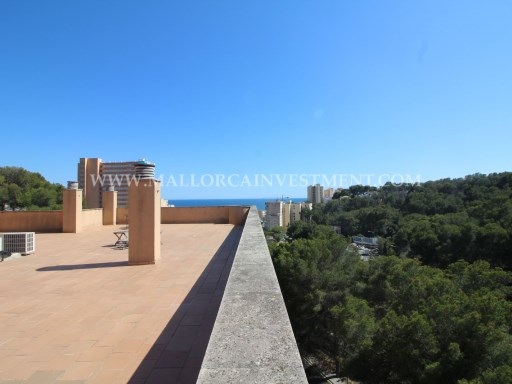Penthouse for sale in Cala Mayor, Palma de Mallorca. Real Estate Mallorca Investment | 2 Bedrooms | 2WC