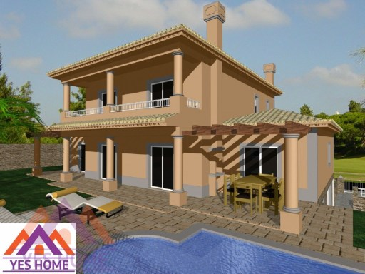 Plot of land for construction of Villa with 4 bedrooms |