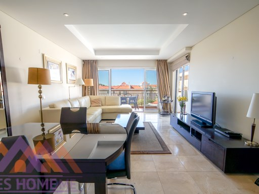 luxury Penthouse 1 bed Apart-Hotel in Vilamoura | 1 Bedroom + 2 Interior Bedrooms | 1WC