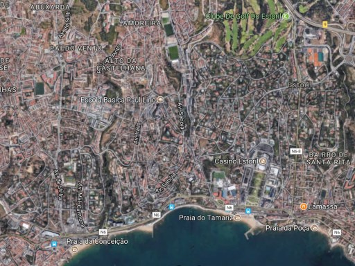 Plot in Monte Estoril for construction of 34 apartments |