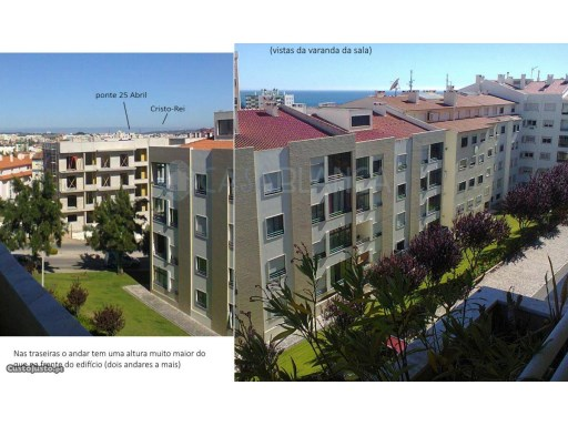 2 bedroom apartment with sea view in Parede, Cascais | 2 Bedrooms