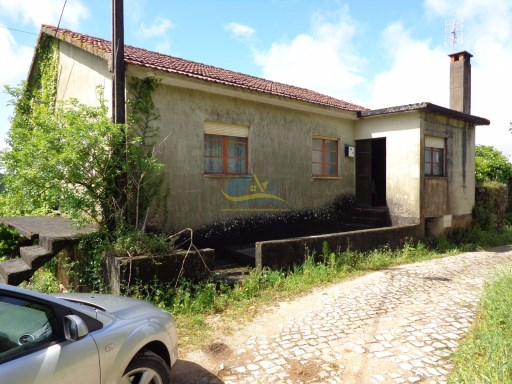 Farmhouse in quite village location and with wonderful views.  |