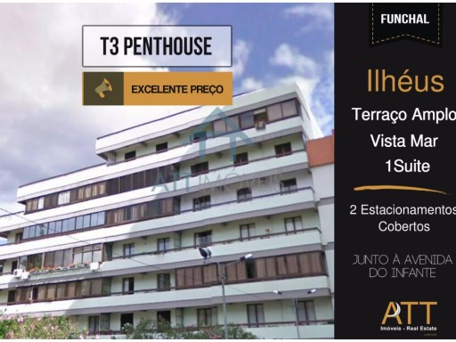 Penthouse Funchal | T3 | 3WC