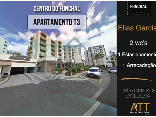 Apartamento T3 no Centro do Funchal | T3 | 2WC