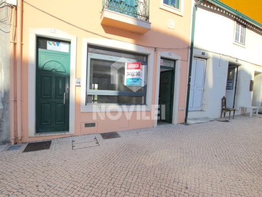 Shop Street with 50 m 2, one of the busiest streets of Leiria and within the historic district. |