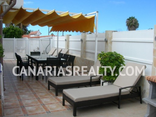 BUN_131 Nice bungalow, in complex on 4 houses, in a green and quiet area of Maspalomas. | 4 Bedrooms
