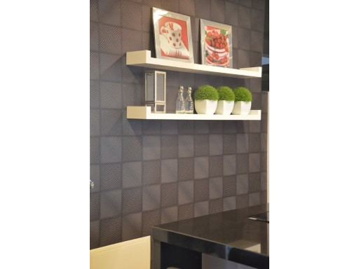 Wall with shelves in cozinha%11/47