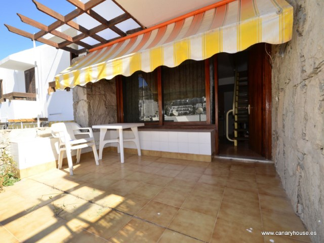 Bungalow, apartment for sale, duplex, in Puerto Rico, Gran Canaria.