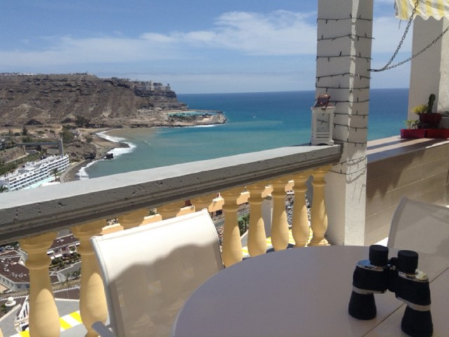 Monseñor, apartment renovated for sale. Playa del Cura, Gran Canaria, overlooking the sea.