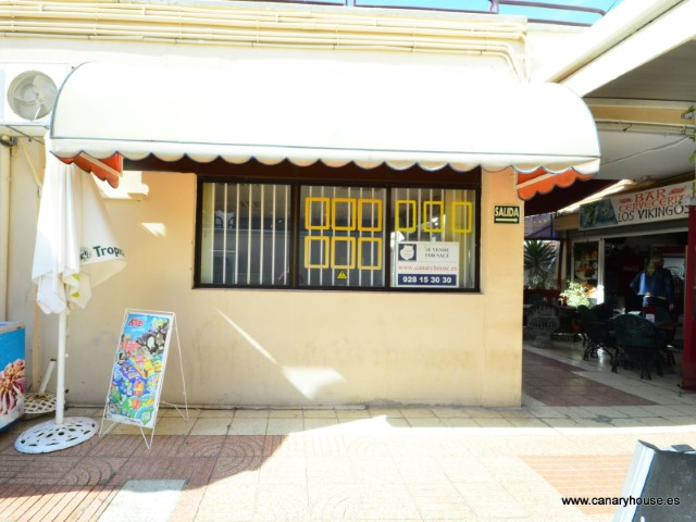 Commercial Premises for sale in Ancora Shopping Center, in Arguineguin, Gran Canaria.