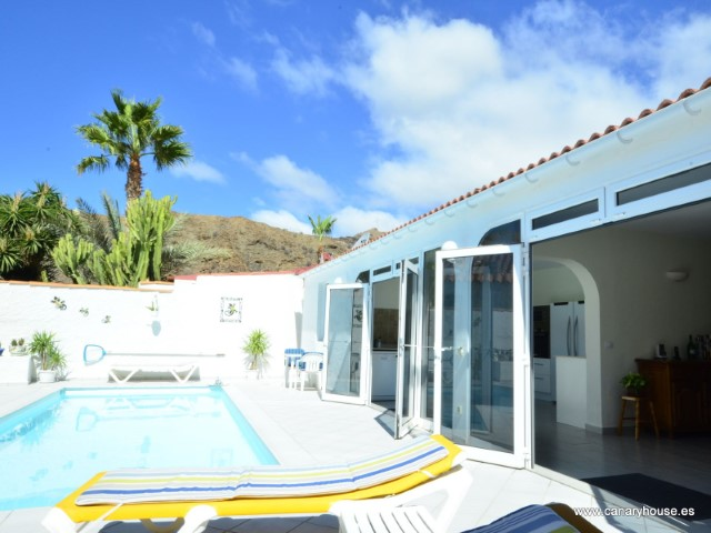 Villa with private pool, for sale, located in Tauro, Gran Canaria.