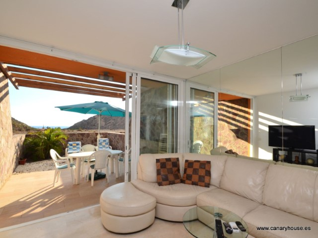 House for sale, located in Barranco Tauro, Mogan, Gran Canaria.