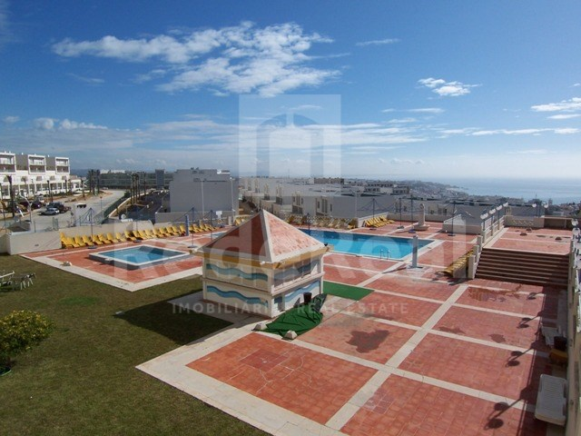 View from balcony Studio apartment with sea view in Algarve